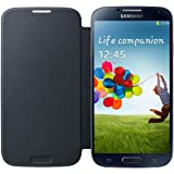 Flip Cover for Samsung Galaxy S4 (Blue Black)