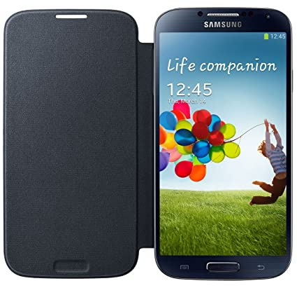 Samsung flip cover for galaxy s4 amazon electronics samsung flip cover for galaxy s4 blue black ccuart Gallery