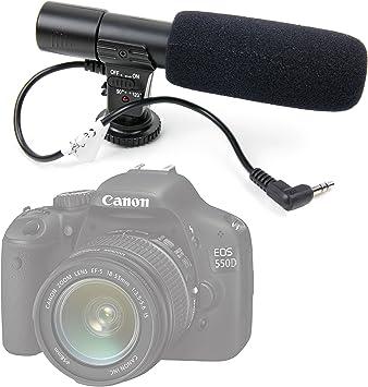 Cámara réflex – de alta calidad estéreo micrófono para la Canon ...