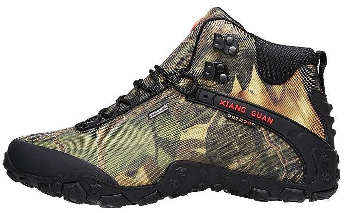 XIANG GUAN Men's Outdoor High-Top Camouflage Water Resistant Trekking  Hiking Boots: Amazon.ca: Shoes & Handbags
