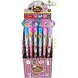 TINYMILLS 24 Pcs Donuts Multi Point Pencils