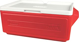 Coleman Party Stacker Cooler 25Qt Glacière Rouge/blanc