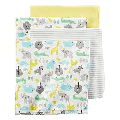 Carter's Baby 4-Pack Safari Receiving Blankets