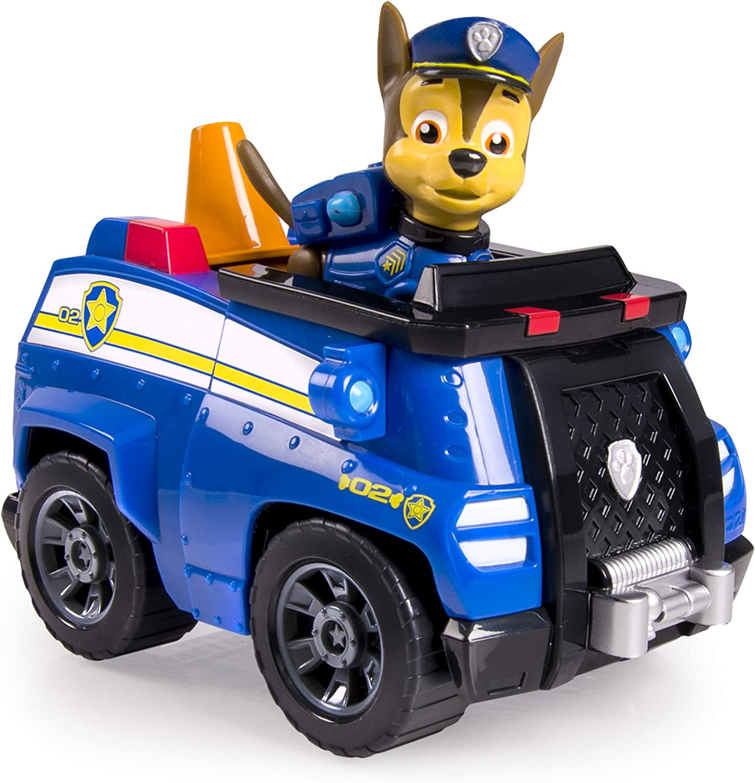 Patrulla Canina - Vehículo básico con figura Chase y su vehículo ...