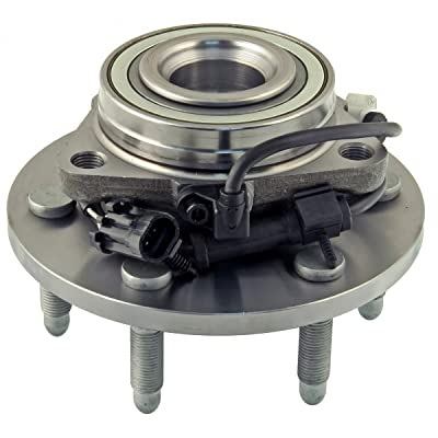 ACDelco 515036 Advantage Wheel Hub and Bearing Assembly with Wheel Speed Sensor and Wheel Studs: Automotive