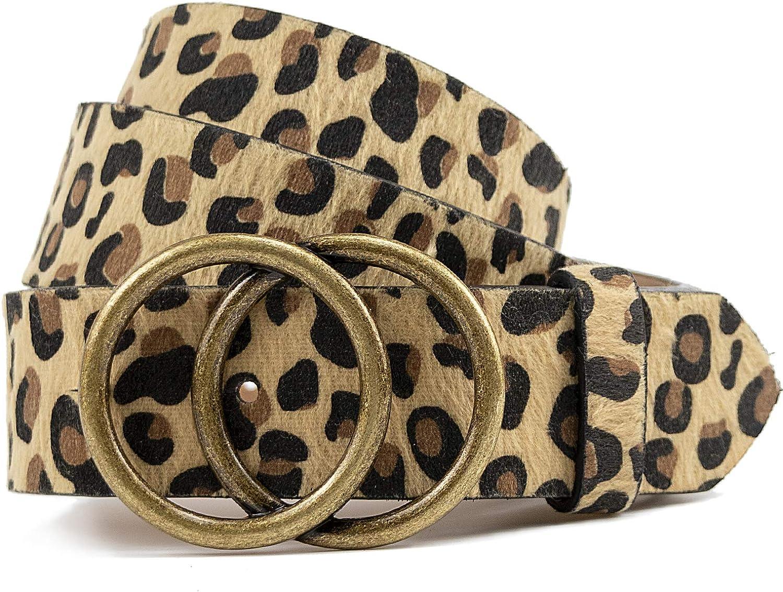 Leopard Belts Leather Belt...