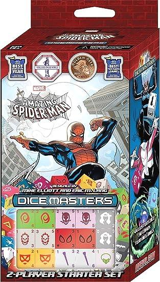 MARVEL DICE MASTERS: SPIDER-MAN STARTER: Amazon.es: Juguetes y juegos