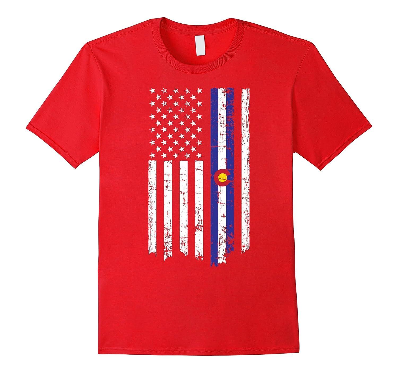 Colorado American T Shirt Large Black-Teesml