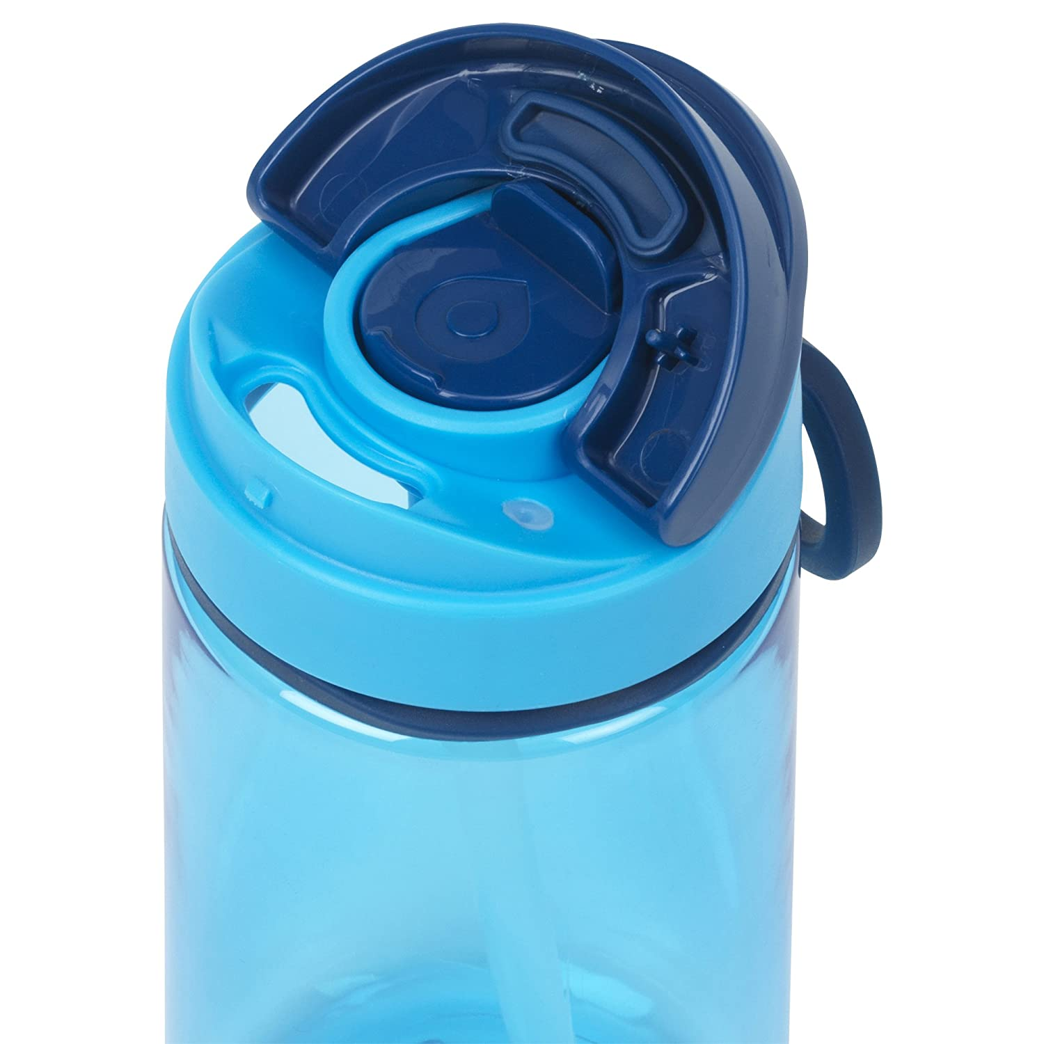 3-Pack 20oz Sip or Drink 2-in-1 Lid System GoBottle 40248 Double Wall Pick-a-Side Leak Proof BPA Free Water Bottle Wide Mouth