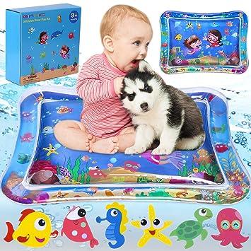 Amazon.com: GINMIC Alfombra de juegos de agua para bebés, 26 ...