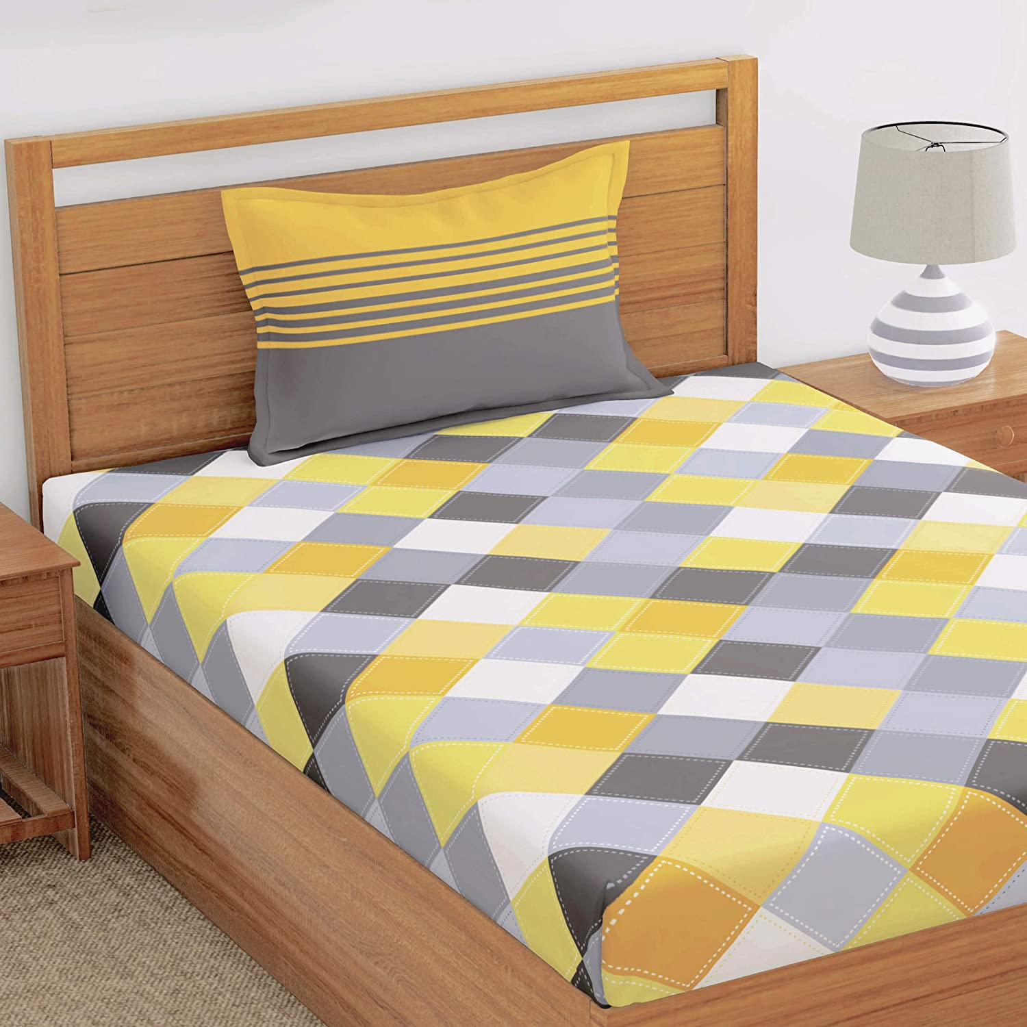 Best Selling Single Bedsheet with Pillow Cover in 2021