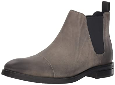 4a4e23e15efde Cole Haan Men's Wagner Grand Chelsea Boot Waterproof, Midnight Grey Nubuck  wp, ...