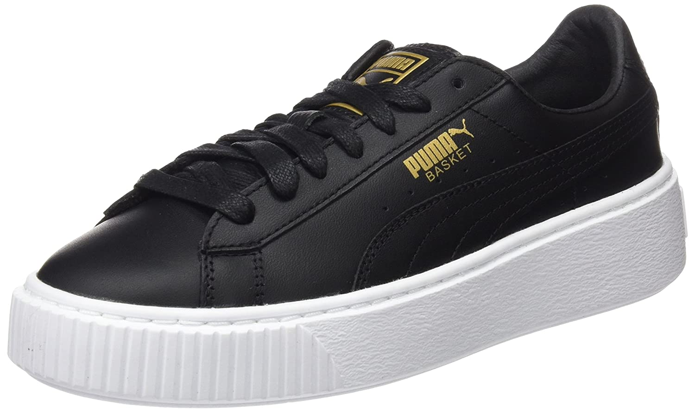 Puma Vikky Platform Ribbon P Sneaker Donna Nero Black Black 40.5 EU
