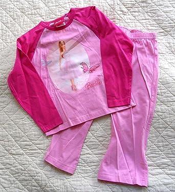 2724aa8e2c68b Pyjama fille Barbie rose 3 ans: Amazon.fr: Vêtements et accessoires