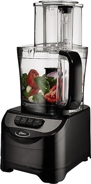 Oster FPSTFP1355 2-Speed 10-Cup Food Processor, 500-watt, Black