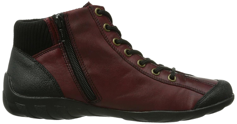 Remonte R3456 Damen Damen R3456 Hohe Sneakers Rot (Schwarz/Chianti/Schwarz / 34) e6102b