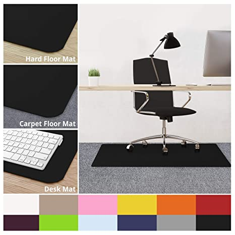 Amazoncom Casa Pura Office Chair Mats For Carpeted Floors 30