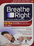 Breathe Right Nasal Strips Extra Tan, 8 Count