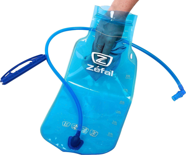 Negro//Rojo Zefal Z Hydro Enduro Mochila de hidrataci/ón 11L Unisex Adulto