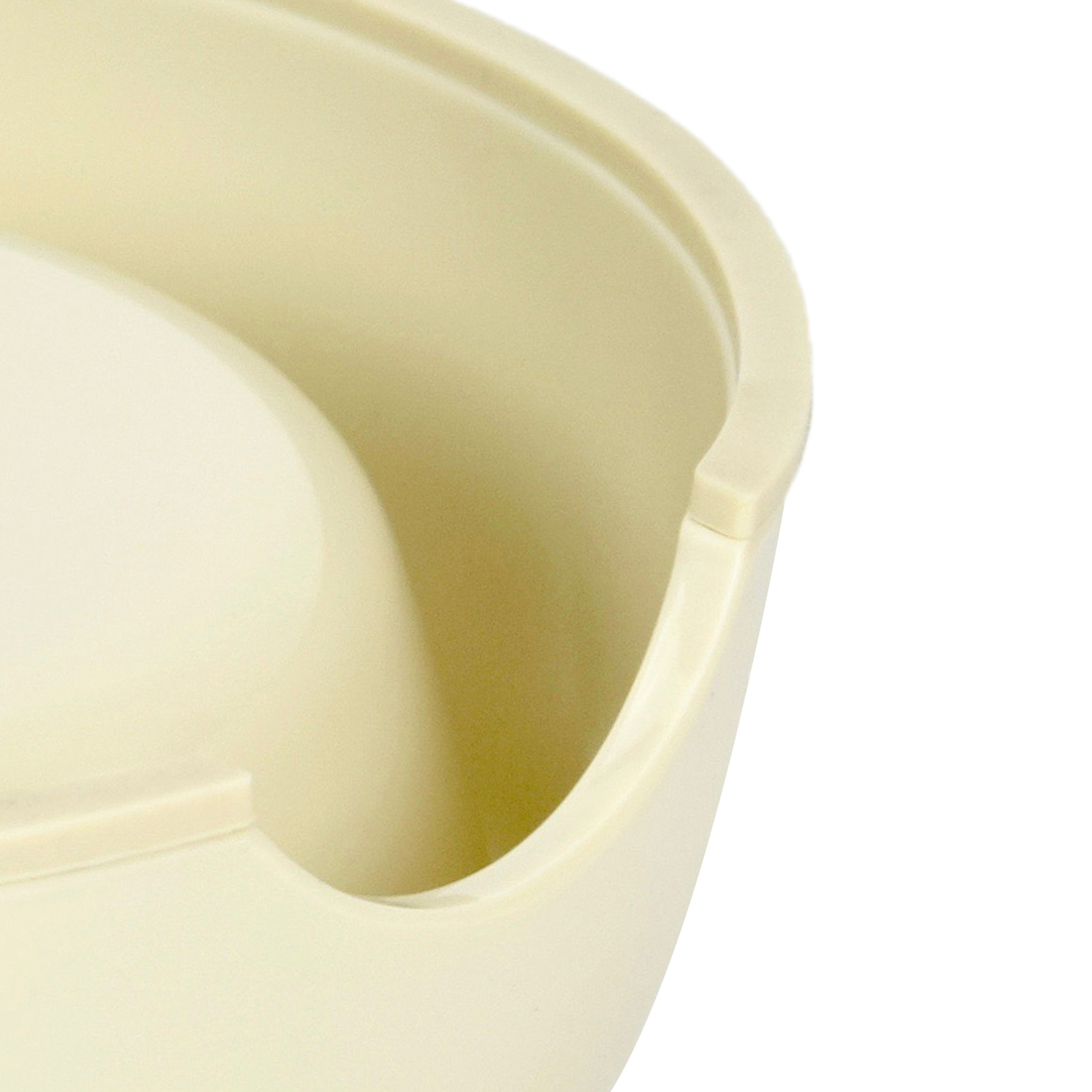 Martha Stewart Slow Feeder Pet Bowl, Ivory, 6 fl. oz.
