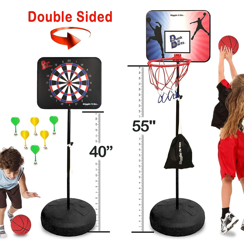 Dunk it Darts - Pizarra magnética para dardos y juego de ...