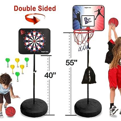 Amazon.com: 2 en una cesta bola de juego magnético y juego ...