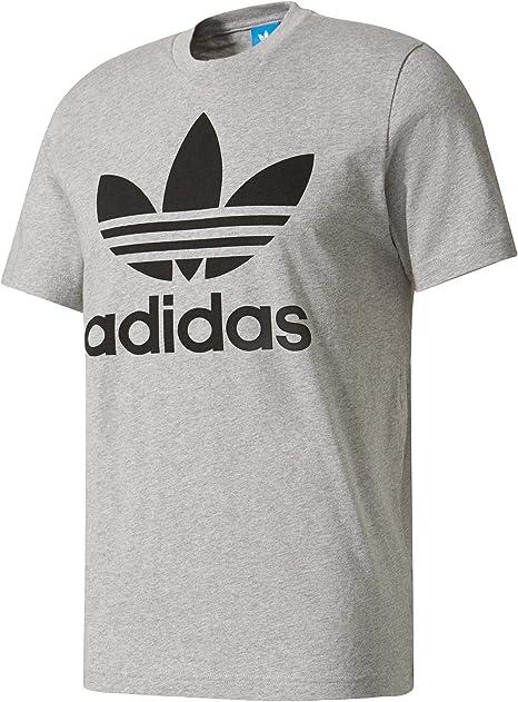 Adidas T Shirt original motif trèfle, pour hommes