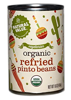 NATURAL VALUE 16-Ounce Canned Fried Bean