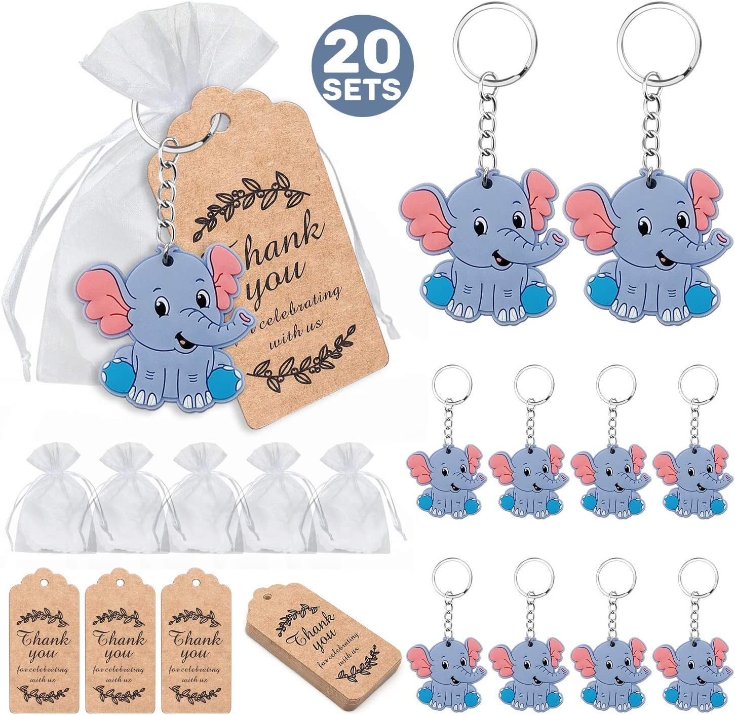 20 Baby Shower Favors  Baby Shower Decoration