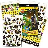 Lego Batman Stickers - Over 295 Stickers Bundled with Specialty Separately Licensed GWW Reward Sticker