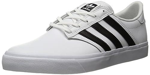 timeless design 31db4 e392e Adidas ORIGINALS Mens Seeley Premiere Fashion Running Shoe, BlackWhite,  (4.5 M
