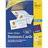 amazon com avery 3379 textured white note cards w envelopes