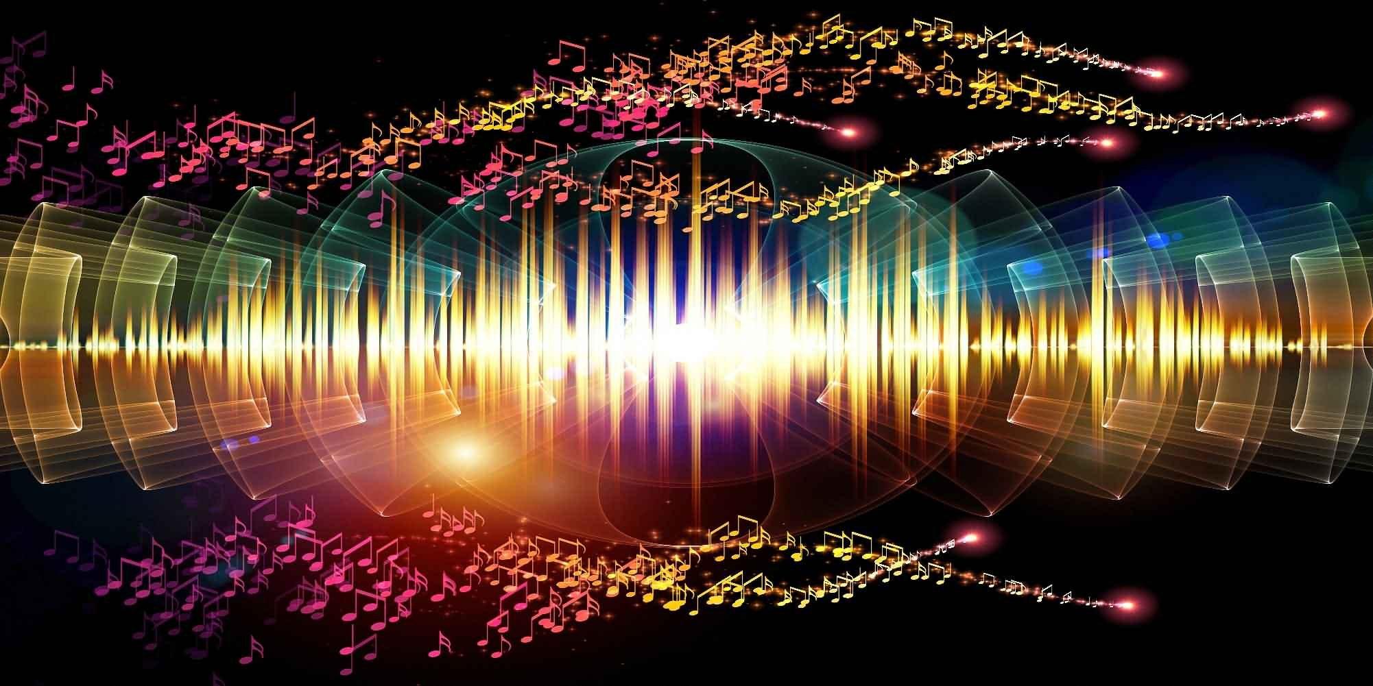 GladsBuy Elegent Melodies 20' x 10' Digital Printed Photography Backdrop Textures Theme Background YHA-032