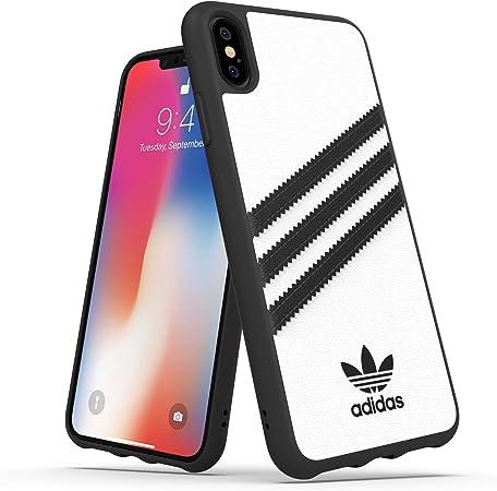 Adidas Handyhülle Entwickelt Für Iphone Xs Max Hülle Fallgeprüfte Hüllen Stoßfeste Erhöhte Kanten Original Schutzhülle Weiß Und Schwarz Streifen Elektronik