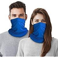 Braga térmica para cuello, 2 Pack Mascarilla Calentador de Cuello Pasamontañas Bufanda de Invierno Máscara Facial…