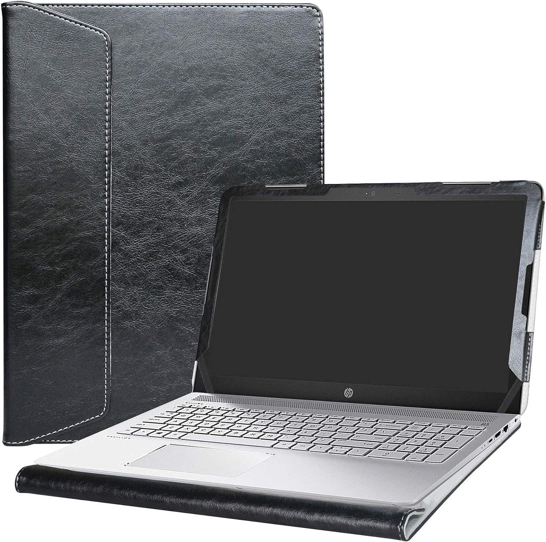 """Alapmk Protective Case Cover for 15.6"""" HP Pavilion 15 15-auXXX (15-au000 to 15-au999,Such as 15-au123cl) Laptop(Warning:Not fit Pavilion 15 15-abXXX/15-ccXXX/15-csXXX/15-bcXXX Series),Black"""