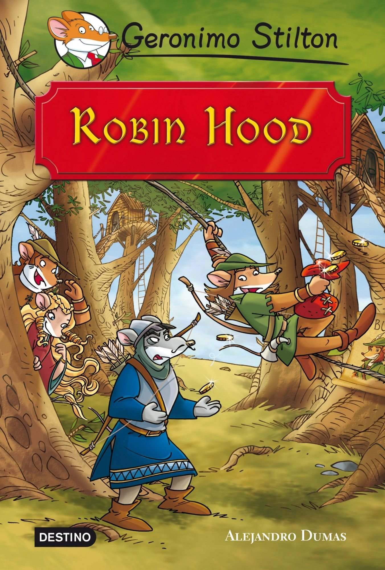 Robin Hood: Grandes Historias Grandes historias Stilton: Amazon.es ...