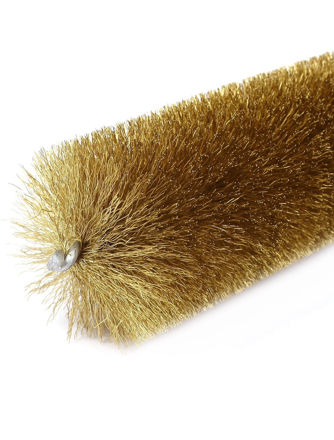 16cm Length 45mm Dia Spiral Twisted Brass Wire Tube Cleaning Brush