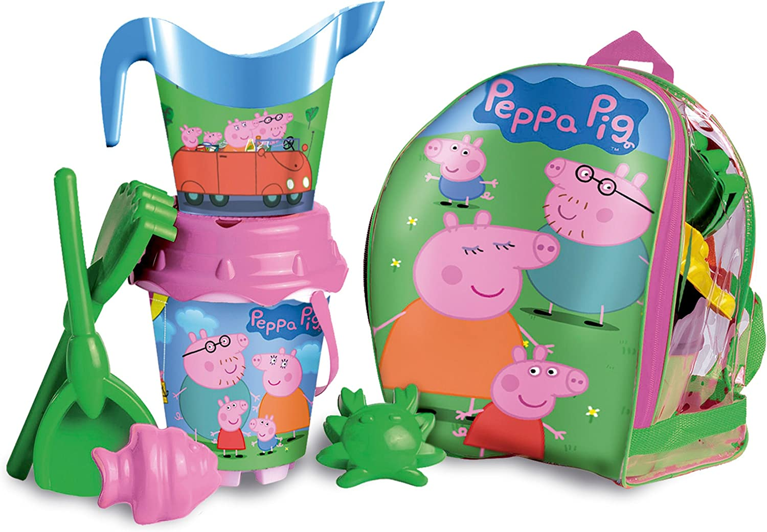 Unice Toys- Peppa Pig Set Juguetes de Playa (16-314010)