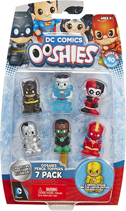 7 Pack Pencil Toppers Ooshies Set 1 Marvel Series 2 Action Figure