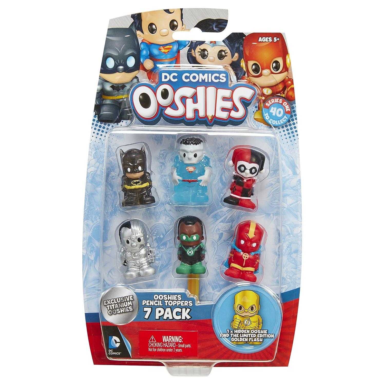 7 Pack Ooshies Set 3 DC Comics Series 1 Action Figure Jakks 41155