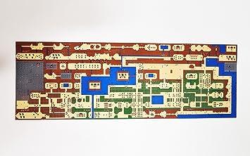 The Legend of Zelda/Hyrule Map/Nintendo NES Classic: Amazon ...