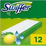 Swiffer Feuchte Bodenreinigungstücher Citrusfrische, Nachfüllpack, 1er Pack (1 x 12Stück)