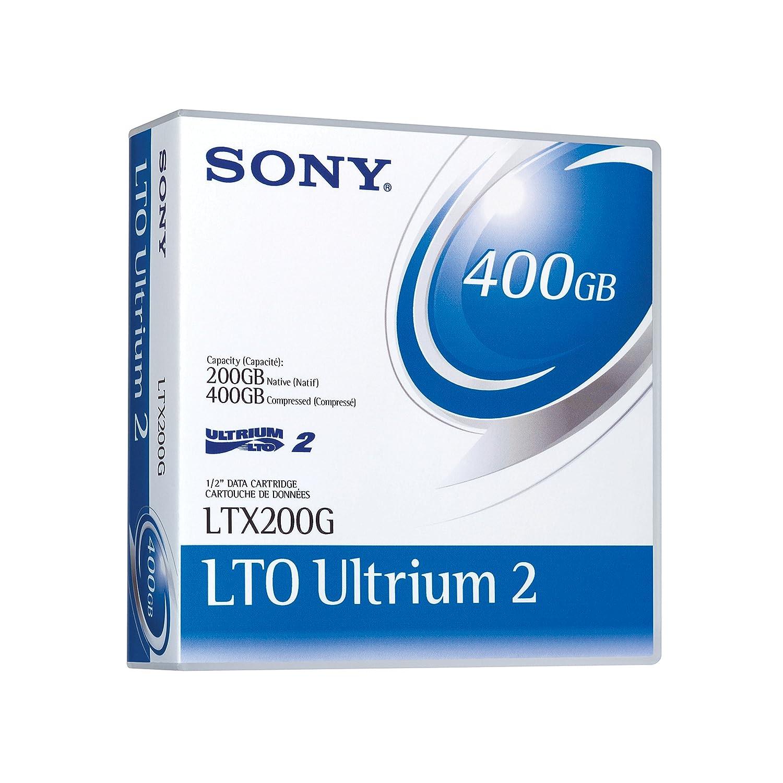 Sony LTX200GWW LTO Ultrium-2 Data Tape (200/400GB)