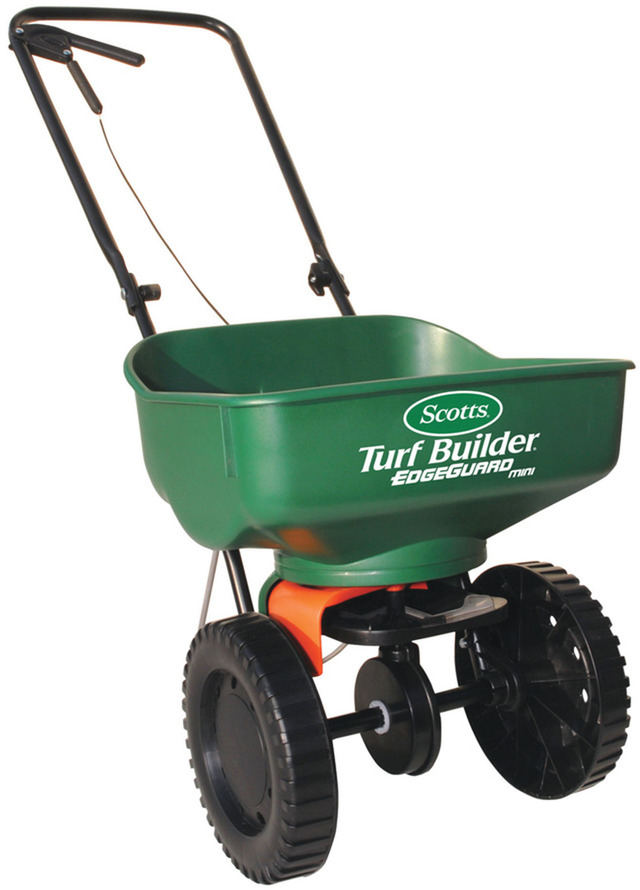 Shop Scotts Turf Builder 23-lb Broadcast Spreader at Lowes.com