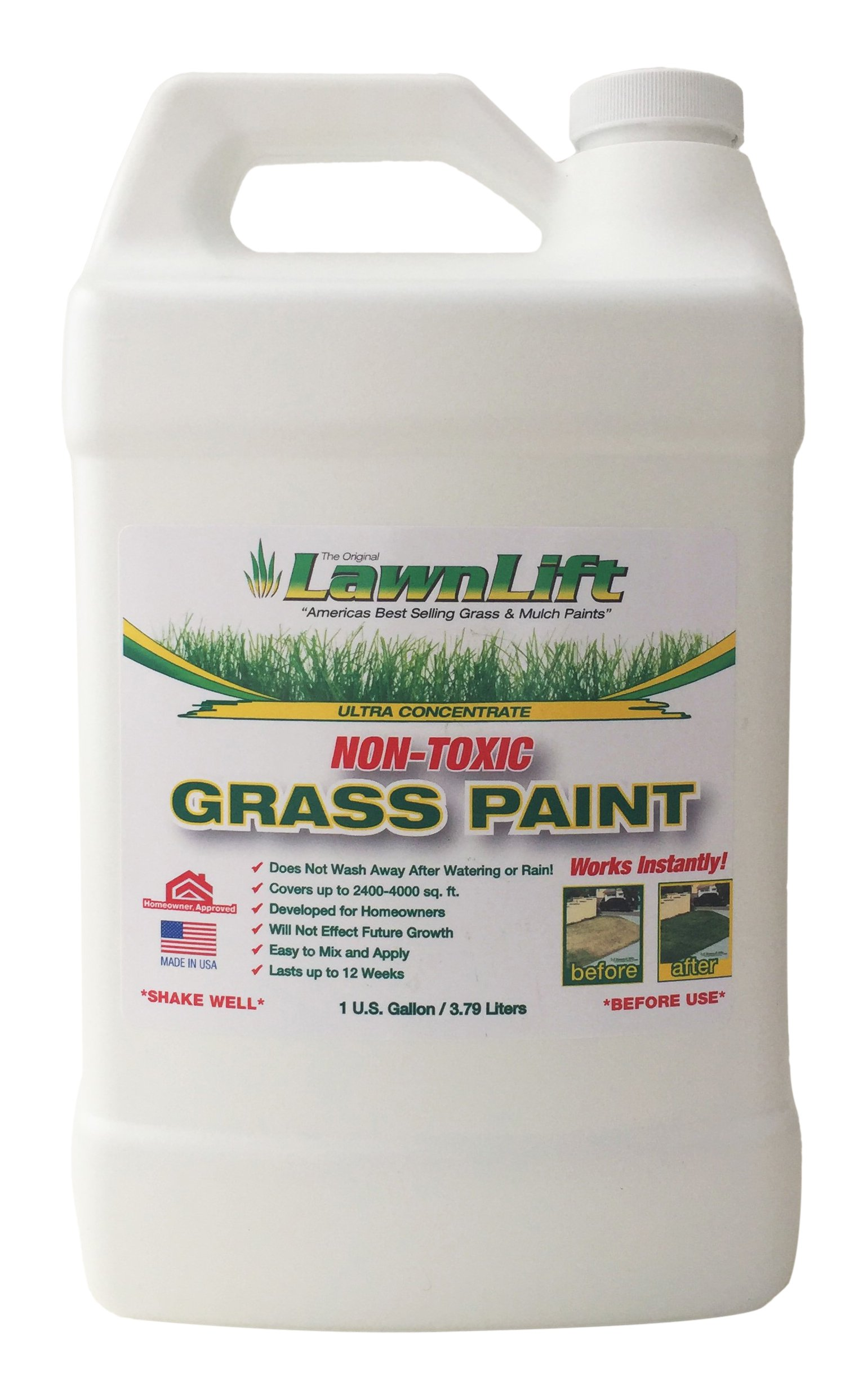 Lawn Paint Concentrated Lawn Paint, 1 gallon
