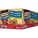 Snyder's of Hanover 100 Calorie Packs Mini Pretzels, 10 Count
