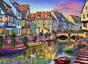Colmar Canal Jigsaw Puzzle 1000 Piece