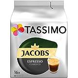 Tassimo Jacobs Espresso Classico, 5er Pack Kaffee T Discs (5 x 16 Getränke)