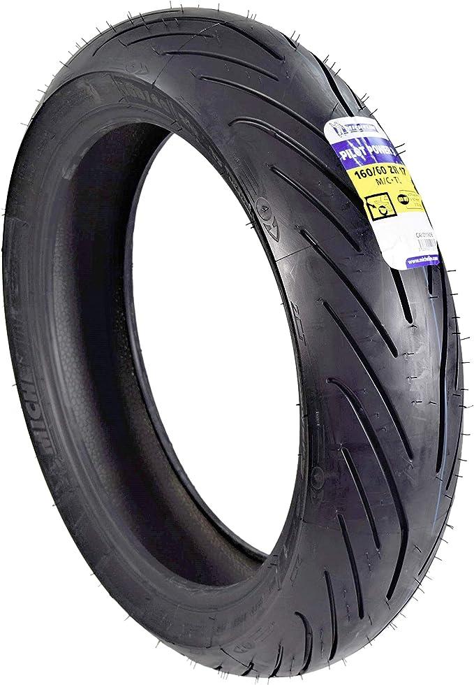 Pilot Power 2CT Rear Tire,160//60ZR17-Sport Bike Michelin